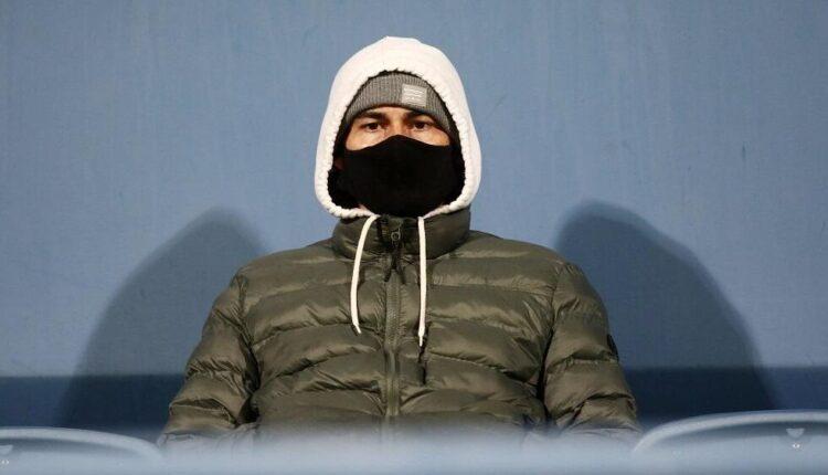 O Iσμαέλ Μπλάνκο στο γήπεδο για να δει το ματς της ΑΕΚ