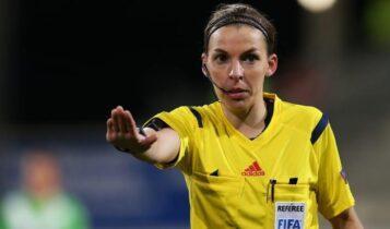 Φραπάρ: Γίνεται η πρώτη γυναίκα που θα σφυρίξει ματς στο Champions League
