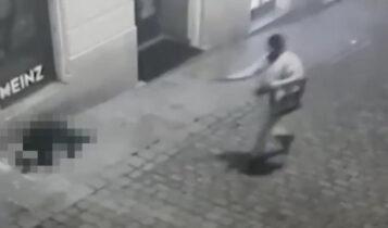 Βιέννη: Τα VIDEO της φρίκης -Ο τζιχαντιστής εκτελεί εν ψυχρώ άοπλο πολίτη