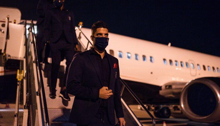 Εφτασε στην Αθήνα για το ματς με την ΑΕΚ η Μπράγκα (ΦΩΤΟ)