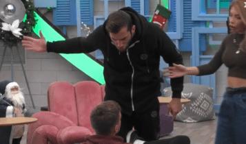 Χαμός στο Big Brother: «Τι θες ρε μ@λ@κ@, μην σου δώσω κάνα χαστούκι!» (VIDEO)