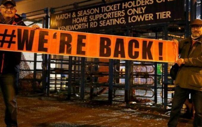 Επέστρεψαν οι Αγγλοι στα γήπεδα μετά από εννέα μήνες (VIDEO)