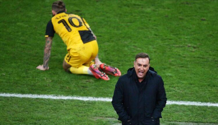 Καρβαλιάλ: «Η ΑΕΚ έπαιξε καλύτερα στον πρώτο αγώνα»