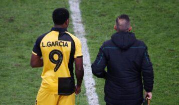 Γκαρσία: «Πρέπει να ενωθούμε - Εχουμε σημαντικό ματς την Κυριακή»