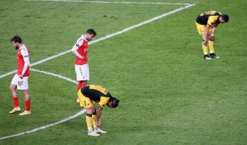 Βαθμολογία UEFA: Βυθίζεται η Ελλάδα - Φόβοι για την 20η θέση