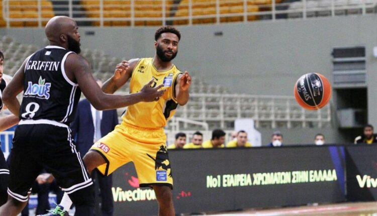 Basket League: Πρώτη και με αγώνα λιγότερο η ΑΕΚ