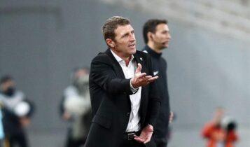 Καρέρα προς τους παίκτες: «Δεν έχουμε πνεύμα νικητή, δεν παίζουμε ενωμένοι»
