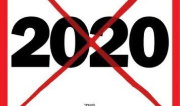 ΤΙΜΕ: 2020... η «χειρότερη χρονιά στην ιστορία»