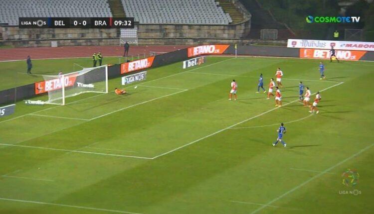 Η Μπράγκα έχασε (2-1) από την Μπελενένσες (VIDEO)