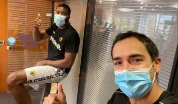 ΑΕΚ: Αποθεραπεία μαζί με τον Σλότερ κάνει ο Ουγκάλντε! (ΦΩΤΟ)