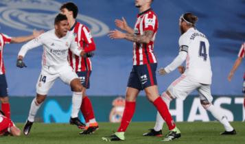 Ο Κασεμίρο έπιασε στον ύπνο την άμυνα της Ατλέτικο και… 1-0! (VIDEO)