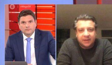 Δερμιτζάκης στο MEGA: Τα πράγματα δεν είναι καλά – Δεν πρέπει να γίνει άρση του lockdown (VIDEO)
