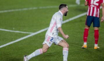 La Liga: «Αφεντικό» στην Μαδρίτη η Ρεάλ, 2-0 την Ατλέτικο (VIDEO)