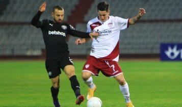 Λάρισα-ΟΦΗ 0-1: Ετσι πήραν το διπλό οι Κρητικοί (VIDEO)