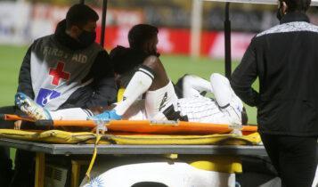 ΠΑΟΚ: Χάνει τη σεζόν ο Ουαγκέ -Χοντρή ζημιά στο γόνατο