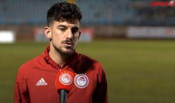 Ανδρούτσος: «Να πάρουμε τη νίκη και στο ντέρμπι με ΑΕΚ»