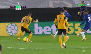 Γουλβς-Τσέλσι: Δύο προσποιήσεις και τρομερό γκολ από τον Ποντένσε! (VIDEO)