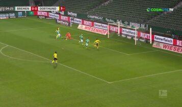 Βέρντερ-Ντόρτμουντ 1-2: Ετσι μπήκαν τα γκολ (VIDEO)