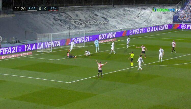 Ρεάλ Μαδρίτης - Μπιλμπάο 3-1 (VIDEO)