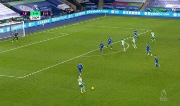 Η Εβερτον κέρδισε 0-2 τη Λέστερ (VIDEO)