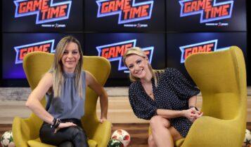 ΟΠΑΠ Game Time από τον …πάγκο με την Έλενα Παπαδοπούλου (VIDEO)