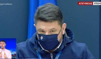 Νίκος Χαρδαλιάς: «Αυστηρό lockdown και στην Κοζάνη» (VIDEO)