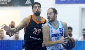 Basket League: Μεγάλη νίκη του Ιωνικού, 86-77 τον Προμηθέα