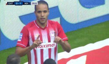 Ολυμπιακός: 2-1 κόντρα στη Λάρισα με Ελ Αραμπί (VIDEO)