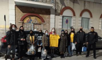 ΑΕΚ: Μοίρασε δώρα και χαρά η γυναικεία ομάδα βόλεϊ (ΦΩΤΟ)