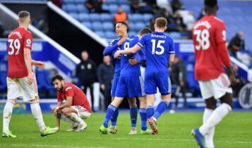 Premier League: Έβαλε... φρένο στη Γιουνάιτεντ η Λέστερ (2-2)