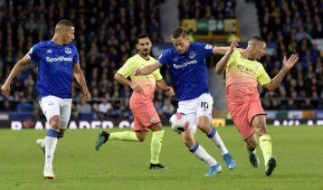 Premier League: Αναβλήθηκε λόγω κορωνοϊού το Εβερτον-Μάντσεστερ Σίτι