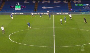 Σε κρίση η Τσέλσι, 1-1 με την Αστον Βίλα (VIDEO)