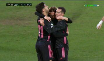 Ρεάλ: Βολίδα ο Ασένσιο, ριμπάουντ ο Μόντριτς για το 1-0! (VIDEO)