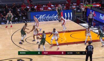 NBA: 19ο triple-double για Αντετοκούνμπο (VIDEO)
