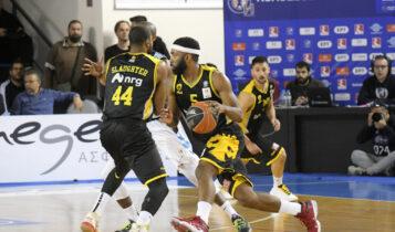 Basket League: Η ΑΕΚ υποδέχεται απόψε τον Κολοσσό, ο Ηρακλής τη Λάρισα