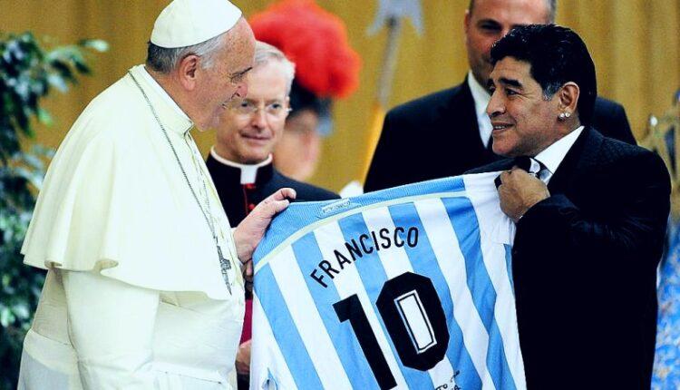 Πάπας για Μαραντόνα: «Ποιητής στο γήπεδο, εύθραυστος έξω από αυτό»