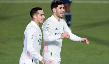 La Liga: Ξανά στην κορυφή η Ρεάλ, νίκησε 2-0 την Θέλτα (VIDEO)
