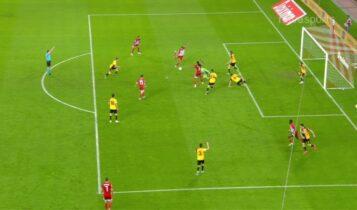 Τρικυμία στην άμυνα της ΑΕΚ και 2-0 ο Ολυμπιακός με τον Ελ Αραμπί (VIDEO)