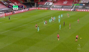 Ετσι έχασε (1-0) η Λίβερπουλ από την Σαουθάμπτον (VIDEO)