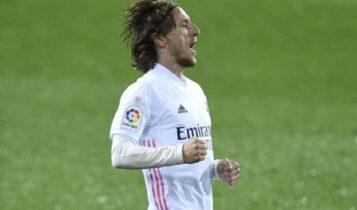 Μόντριτς: Δέχθηκε τη μείωση και ανανεώνει με τη Ρεάλ Μαδρίτης