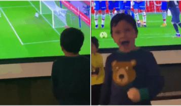 Μπαρτσελόνα: Ο μικρός Ματέο πανηγυρίζει σαν «τρελός» το γκολ του μπαμπά του (VIDEO)