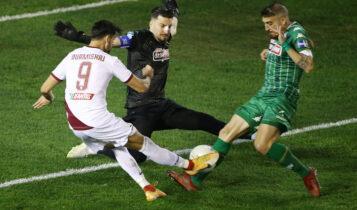 Super League: Δύσκολα νίκησε την Λάρισα ο Παναθηναϊκός (VIDEO)