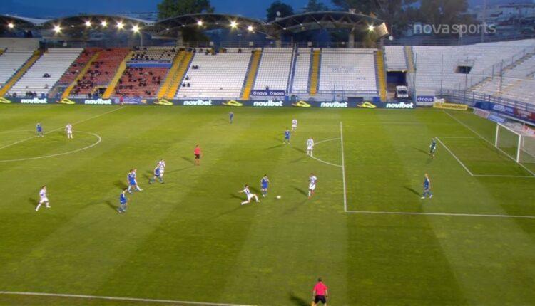 Απόλλων Σμύρνης-Αστέρας Τρίπολης: Τραγικό λάθος Μπρούσιτς, 0-1 ο Μπαράλες (VIDEO)