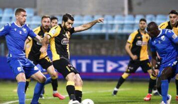 «Καθάρισε» ο Καρίμαρος για την ΑΕΚ, πέρασε με 0-1 από τη Λαμία