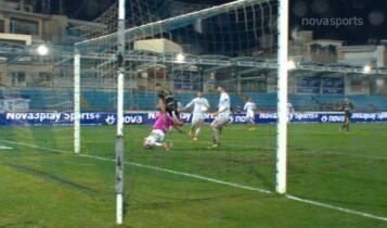 ΠΑΣ Γιάννινα-Αρης: Το VAR ακύρωσε το γκολ του Μαντσίνι (VIDEO)