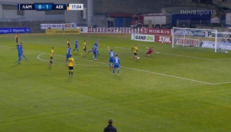 Χαμένο τετ α τετ ο Μπακάκης, κοντά στο 0-2 η ΑΕΚ! (VIDEO)