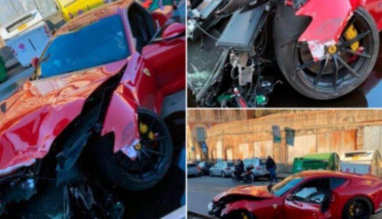 Ο Μαρκέτι πήγε τη Ferrari του για πλύσιμο και την επέστρεψαν διαλυμένη (ΦΩΤΟ-VIDEO)