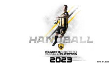 ΑΕΚ: Η ομάδα χάντμπολ «έδεσε» τον Χρήστο Κεδέρη μέχρι το 2023!