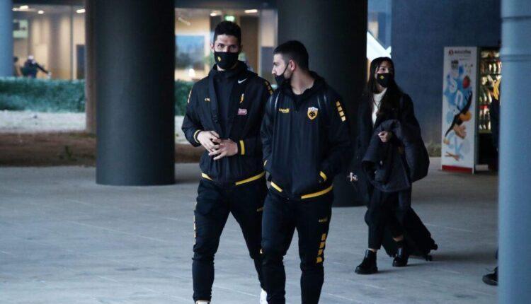 Στη Θεσσαλονίκη η ΑΕΚ (ΦΩΤΟ)