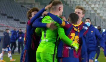 Super Cup: Στον τελικό η Μπάρτσα (VIDEO)
